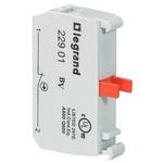 Legrand OSMOZ Contact & Light Block - NC 600 V ac