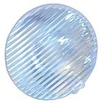 Carclo 10197 LED Lens, 40 x 10 ° Oval Ripple Beam