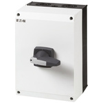 Eaton 3 Pole Enclosed Non Fused Isolator Switch - 160 A Maximum Current, 90 kW Power Rating, IP65