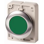 Eaton Flush Green Push Button - Momentary, M30 Series, 30mm Cutout, Round