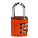 ABUS 145/30 Orange All Weather Aluminium, Steel Safety Padlock 30mm