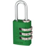 ABUS 145/20 Green All Weather Aluminium, Steel Safety Padlock 20mm