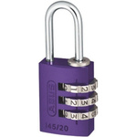 ABUS 145/20 Lilac All Weather Aluminium Safety Padlock 20mm
