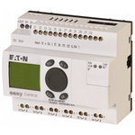 Eaton easy Logic Module, 24 V dc Relay, 12 x Input, 6 x Output With Display