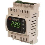Carel DN33 PID Temperature Controller, 144 x 70mm, 1 Output Relay, 12 → 24 V ac, 12 → 30 V dc Supply