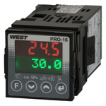 West Instruments KS20 PID Temperature Controller, 48 x 48mm, 6 Output Relay, SSR, 100  240 V ac Supply Voltage