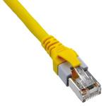 HARTING Yellow PUR Cat5e Cable SF/UTP, 8m Male RJ45/Male RJ45