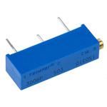 50kΩ, Through Hole Trimmer Potentiometer 0.75W Side Adjust Bourns, 3006