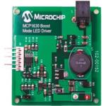 Microchip MCP1630DM-LED2, Boost Mode LED Driver Demonstration Board for MCP1630V