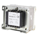 RS PRO 100VA 2 Output Chassis Mounting Transformer, 50V ac