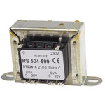 RS PRO 12VA 2 Output Chassis Mounting Transformer, 20V ac