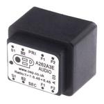 Through Hole Audio Transformer 600Ω 100mW Hz @ 300, 1mW Hz @ 30