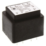 Through Hole Audio Transformer 150Ω 100mW Hz @ 300, 1mW Hz @ 30