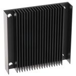 Heatsink, 1/2 Brick DC/DC Converter, 57.91 x 60.96 x 11.4mm, Screw