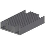 Heatsink, 1/4 Brick DC/DC Converter, 37 x 58 x 11.4mm, Screw