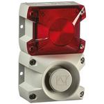 Pfannenberg PA X 1-05 Sounder Beacon 100dB, Red Xenon, 230 V ac