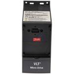 Danfoss VLT FC51 Inverter Drive, 1-Phase In, 0 → 200 (VVC+ Mode) Hz, 0 → 400 (U/f Mode) Hz Out, 0.18 kW,
