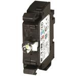 Eaton M22 Contact & Light Block - 1CO White