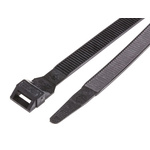 Legrand Black Cable Tie PA 12, 123mm x 9 mm