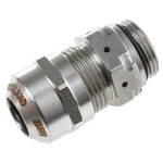 VentGLAND M20 Cable Gland, Stainless Steel, IP69K