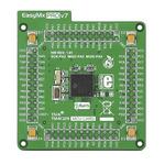 MikroElektronika EasyMx PRO v7 for Tiva MCU Card 10 x I2C, 12 bit D/A, 2 x 12 bit A/D (24 Channels), 2 x CAN, 256 kB