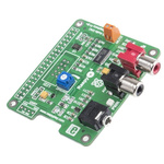 MikroElektronika RaspyPlay4 HiFi Audio Add-On Board for Raspberry Pi