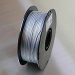 3D Printz 1.75mm Silver PLA 3D Printer Filament, 1kg