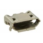 Amphenol FCI USB Connector, SMT, Socket B, Solder, Right Angle