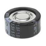 Panasonic 1F Supercapacitor EDLC -20 → +80% Tolerance, F 5.5V dc, Through Hole