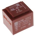 15V ac 2 Output Through Hole PCB Transformer, 2.5VA