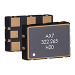 Abracon, 106.25MHz XO Oscillator, ±25ppm LVDS 6-SMD Compatible AX7DAF1-106.2500C