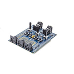 Analog Devices Audio Project Fin for the SHARC® Audio Module Expansion Board ADZS-AUDIOPROJECT