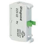 Legrand OSMOZ Contact & Light Block - SPNO 600 V ac