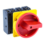 Eaton 3 + N Pole Flush Mount Switch Disconnector - 63 A Maximum Current, 37 kW Power Rating, IP65