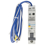 Europa Type C RCBO - 1+N, 6 kA Breaking Capacity, 16A Current Rating, EUB1R Series