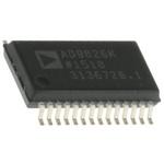 AD9826KRSZ, Image Signal Processor, 3-Channel 16 bit, 30000ksps SPI, 28-Pin SSOP