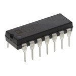 AD734BNZ Analog Devices, 4-quadrant Voltage Divider and Multiplier, 10 MHz, 14-Pin PDIP