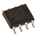 AD628ARZ Analog Devices, 2-Channel Differential Amplifier 8-Pin SOIC