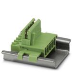 Phoenix Contact ME 17.5 TBUS 1.5/ 5-ST-3.81 GN Series DIN Rail Mounting Kit, DIN Rail Mounting Kit for use with DIN