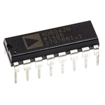 AD694JNZ Analog Devices, 0 → 20 mA, 4 → 20 mA Current Loop Transmitter 300kHz 16-Pin PDIP