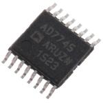 AD7745ARUZ, Capacitance to Digital Converter, 24 bit- 16-Pin TSSOP