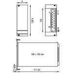 Schroff 12V dc 2.8A Power Supply 31W
