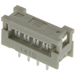 Harting 8-Way IDC Connector Plug for Cable Mount, 2-Row