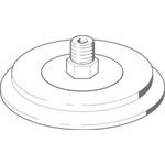 Festo 100mm Flat Suction Cup VAS-100-1/4-SI-B