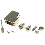 Harting D-sub Thermoplastic D-sub Connector Backshell, 9 Way