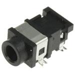 Lumberg 3.5 mm Surface Mount Stereo Jack Socket, 3Pole 1A