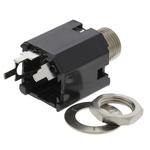 Switchcraft 6.35 mm Through Hole Mono Jack Socket, 2Pole