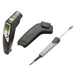 Testo Set testo 830-T4 Infrared Thermometer, Max Temperature +400°C, ±1 °C, Centigrade