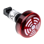 Werma 150 Buzzer Beacon 80dB, Red LED, 24 V dc