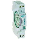 1 Channel Analogue DIN Rail Time Switch Measures Minutes, 110 V dc, 230 V ac